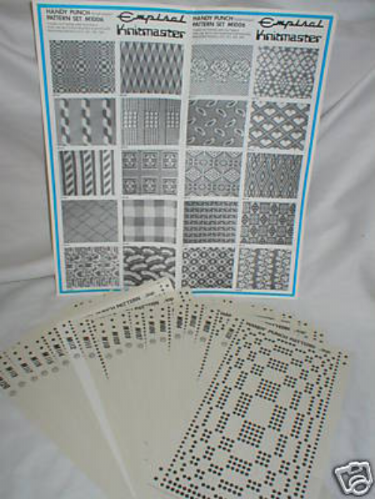 Pre Printed Pattern Sets Knitmaster Knitting Machine 1